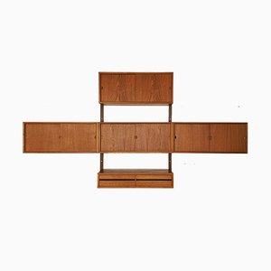 Danish Teak Wall Shelf, 1960s