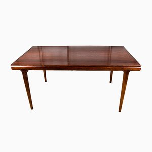Danish Extendable Rosewood Dining Table by Johannes Andersen for Uldum Møbelfabrik, 1960s