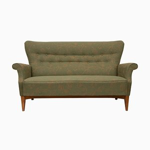 Mid-Century Danish Buttoned Back Sofa, 1960s