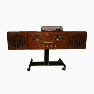 Radio Stereophonic italiana RR-126 de F.lli Castiglioni para Brionvega, años 60