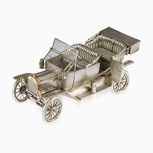Vintage Solid Silver Tin Lizzie Ford Model T from Garrard & Co, 1970s