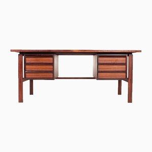 Mid-Century Rosewood Desk by Svend Åge Madsen for Sigurd Hansen, 1950s