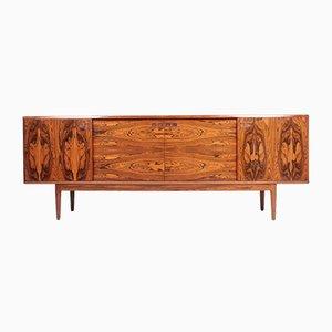 Mueble danés Mid-Century de palisandro de Christian Linneberg, años 50
