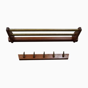 Scandinavian Coat Racks from Hafa, 1960s, Set of 2