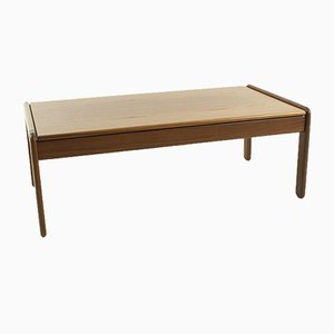 Table Basse Scandinave en Teck, 1960s