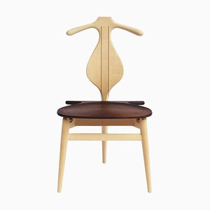 Maple and Wengé Model PP250 the Valet Chair by Hans J. Wegner for PP Mobler