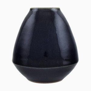 Vase in Glazed Ceramic by Jean-David Bosshard, Switzerland, 1980s