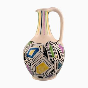 Jug with Handle in Glazed Ceramic, 1957