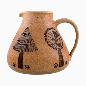 Brocca in ceramica smaltata, 1947