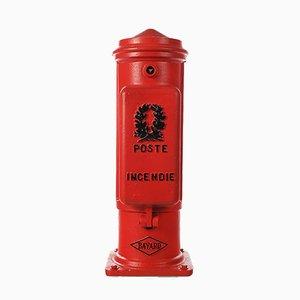 Roter Bayard Feuerhydrant