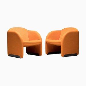 Ben Stühle von Pierre Paulin für Artifort, 2000er, 2er Set