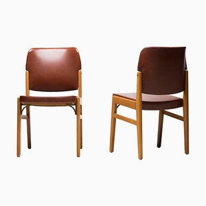 Chairs by Nordiska Kompaniet, 1930s, Set of 2