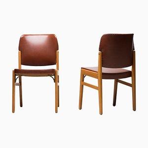 Stühle von Nordiska Kompaniet, 1930er, 2er Set
