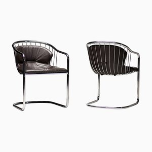 Wire Chairs by Gastone Rinaldi, 1979, Set of 2