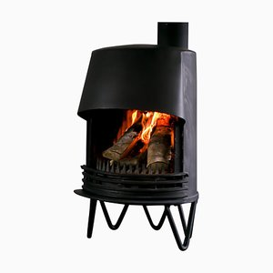 Danish Fireplace by Tasso, 1950s