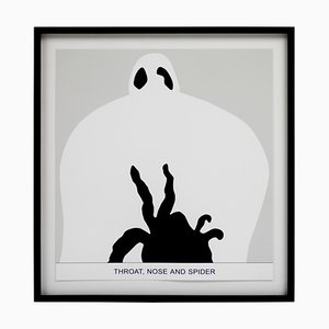 Sediment, Throat, Nose, and Spider by John Baldessari, 2010