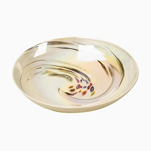 Large Glass Bowl by Dino Martens for Aureliano Toso, 1960s