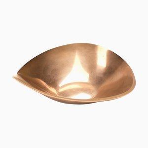Copper Bowl by Tapio Wirkkala for Kultakeskus Oy, 1970s