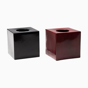 Model 585 Vases by Ettore Sottsass, Italy, 1961, Set of 2