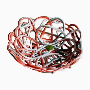 Large Soft Resin Basket by Gaetano Pesce, 2000s