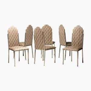 Dining Chairs by Alain Delon, Set of 6