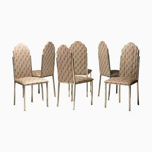 Sedie da pranzo di Alain Delon, set di 6
