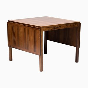 Scandinavian Rosewood Drop-Leaf Table from Vejle Stole & Møbelfabrik, 1970s