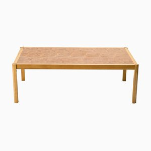 Danish Architectural Coffee Table by Grom Lindum, 1970s