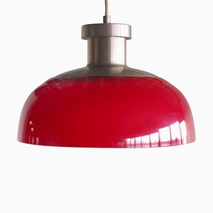 Red 4017 Pendant Lamp by Achille Castiglioni for Kartell, 1959