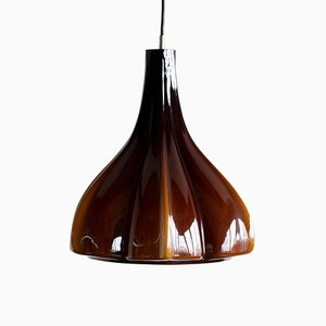 Murano Glass Pendant Lamp by Massimo and Lella Vignelli for Venini, 1968