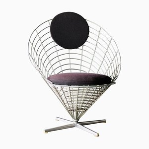 Wire Cone Lounge Chair by Verner Panton, 1960s
