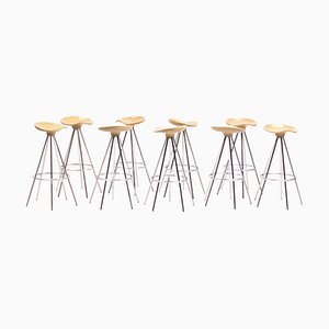 Beech Jamaica Barstool by Pepe Cortés, 1999