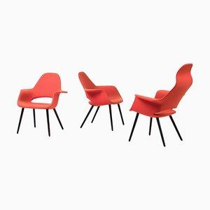Organic Chairs by Charles Eames & Eero Saarinen, 2012, Set of 3