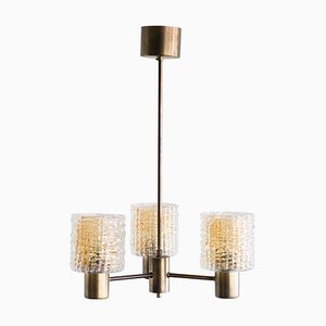 3-Arm Chandelier by Carl Fagerlund, 1960s