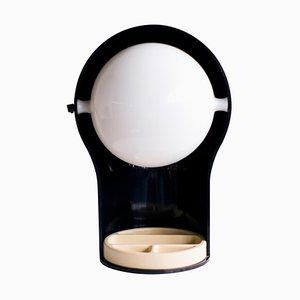 Lampe de Bureau Telegono avec Boîte à Trépied par Vico Magistretti, 1968