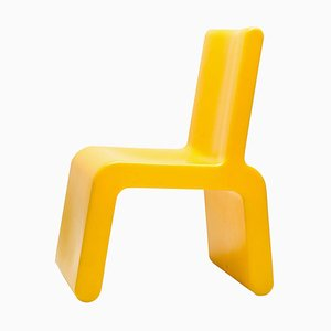 Yellow WL&T Chair by Marc Newson for Walter Van Beirendonck, 1990s