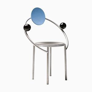First Chair by Michele De Lucchi for Memphis, 1983