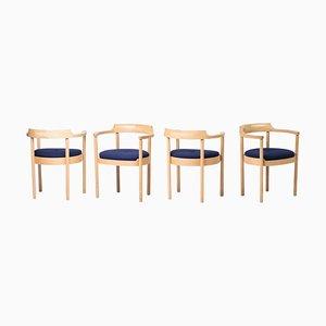 M40 Dining Chairs by Henning Jensen & Torben Valeur, 1980s, Set of 4