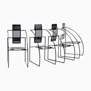 Quinta Chairs by Mario Botta, 1988, Set of 4