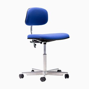 Royal Blue Kevi Desk Chair by Jørgen Rasmussen, 1990s