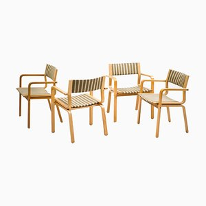 Saint Catherine College Chairs by Arne Jacobsen, 1978, Set of 4