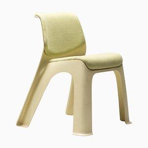 Chaise en Plastique et Lin, 1974