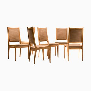 Scandinavian Dining Chairs by Karl-Erik Ekselius for JOC, 1960s, Set of 6