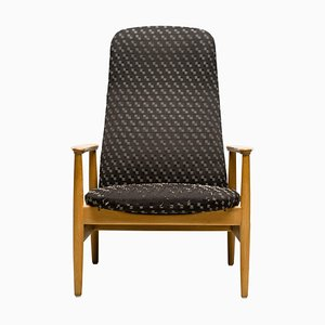 Reclining Lounge Chair by Alf Svensson, 1960s