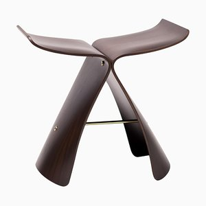 Rosewood Butterfly Stool by Sori Yanagi