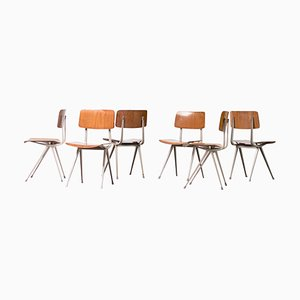 Result Chairs by Friso Kramer, 1970s, Set of 6