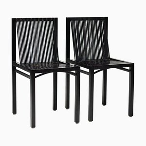 Slat Chairs by Ruud-Jan Kokke, 1984, Set of 2