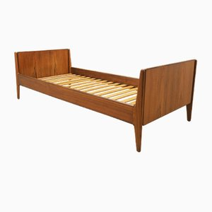 Danish Teak Bed, 1970s