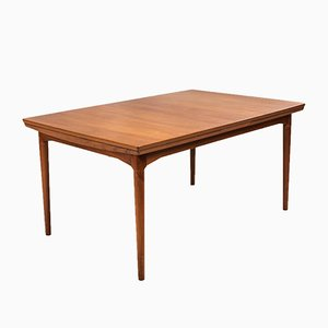 Danish Extendable Teak Dining Table by Arne Vodder for Cado, 1960s