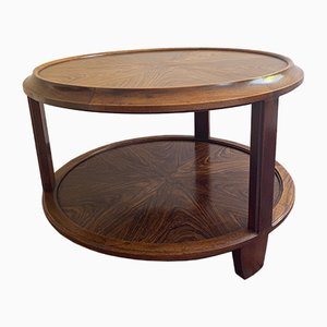Antique Art Deco Rosewood Coffee Table by Louis Majorelle for Majorelle